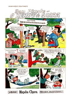 ALMANAQUE DOM PIXOTE (HUCKLEBERRY HOUND) - 1971 / HANNA-BARBERA