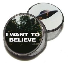 I Want to Believe Plugs  1 Pair 2 plugs  Sizes 2g by GrudgePlugs, $18.95