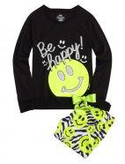 Smiley Face Capri Pajama Set