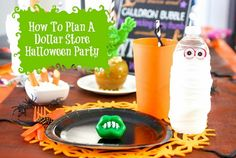 How to Throw a Dollar Store Halloween Party for Kids | thegoodstuff