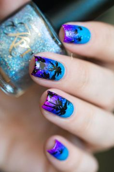 Wonderful Tropical Nail Designs To Copy This Summer