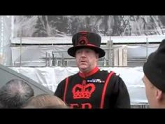 Yeoman Warder At Tower Of London, Part III of Four - YouTube