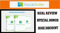Social Suite Real Review And Huge Bonus| Social Suite Live Demo Of A Real User http://youtu.be/9XE8Si8SDS4