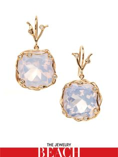 Dean Harris Lilac quartz drop earrings in 18K diamond vine, $3,000barneys.com
