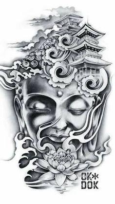 Resultado de imagem para tatuagem masculina buda