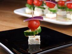 Easy Greek Appetizer Skewers Recipe on Yummly