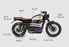 TRIUMPH BONNEVILLE - TAMARIT SPANISH MOTORCYCLES - 8NEGRO