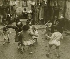 Resultado de imagen de fotos de Nápoles 1950
