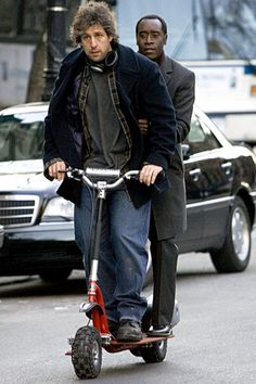 "Adam Sandler & Don Cheadle. ""Reign Over Me"". 2007"