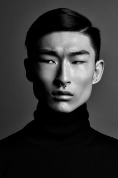 Kim Sang Woo, black and white portrait. Face Reference, Photo Reference, Kim Sang Woo, Face Study, Too Faced, Black And White Portraits, Black And White Photography Portraits, Portrait Inspiration, Character Inspiration