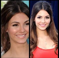 Victoria Justice hair up or hair down