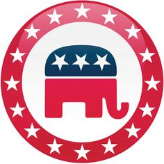This is a picture of the GOP symbol. IT is used here because after Lincoln was killed the next president was Andrew Johnson. The man was know to have radical Republican ideas during Reconstruction.