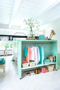Use Your Clothes - How To Convert A Room In Style - Photos