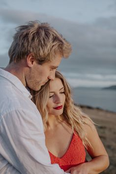 Image 2 - Tasmanian Headland Engagement Shoot: Sean and Ella in Engagement.