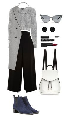 """""""Senza titolo #1523"""" by monsteryay ❤ liked on Polyvore featuring moda, rag & bone, Acne Studios, Proenza Schouler, Lanvin, NARS Cosmetics ve Givenchy"""