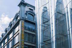 SANAA's overhaul of La Samaritaine department store opens in Paris Samar, Sanaa Architecture, Retail Architecture, Paris France, Renovation Paris, Renaissance, Art Nouveau, Pont Paris, Ryue Nishizawa