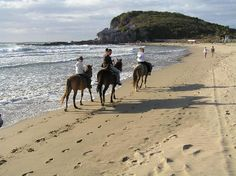 Horseback Riding in Mazatlan, Mexico