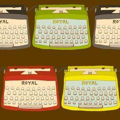 typewriters on parade