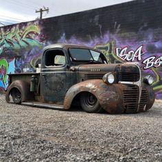 badass 1941 Dodge truck