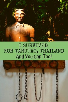 The historic, ex-prison island of Koh Tarutao, Thailand is as primitive as it is inviting. Part of the Koh Tarutao National Marine Park, this beautiful must-see island is full of challenges if one's not prepared. Here's how you can survive a visit there. #Thailand #islands #UNESCO #travel #KohLipe #KohTarutao