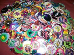 Pogs... my dad was so ahead of the curve, he started buying me these at a tiny little toy store before the big craze hit.