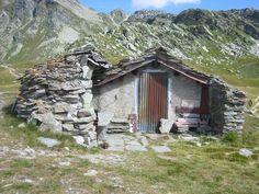 rock hut