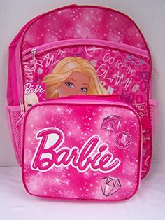 Barbie Backpack with Removable Lunchbox Best Kids Backpacks, Back To School Backpacks, Girl Backpacks, Kids Backpack Boys, Toddler Backpack, Luxury Horse Barns, Nurse Bag, 10 Birthday, Wooden Playhouse