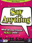 Say Anything | Board Game | BoardGameGeek