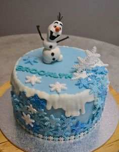 disney frozen cake ideas | Red Velvet Cake with Fondant and Royal Icing Decorations