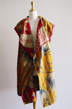 Vintage Blanket Jacket in Moondance {L}