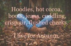 love ready for colder weather