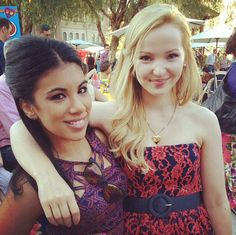 Dove Cameron and Chrissie Fit