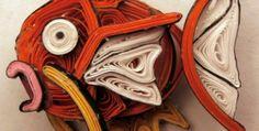 Aimie Holdorf透過捲紙藝術做出有趣的神奇寶貝