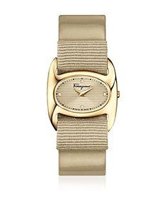 Salvatore Ferragamo Timepieces Reloj de cuarzo Woman Beige Claro 27 mm