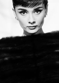 """""""The beauty of a woman is not in the clothes she wears, the figure that she carries or the way she combs her hair."""" Audrey Hepburn ~♡~"""
