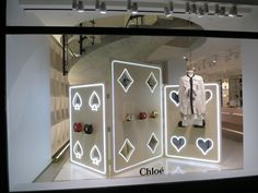"CHLOE,New York,""Play Your Cards Right', pinned by Ton van der Veer"