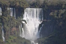 A breathtaking fall at the Argentinian side of the Iguaçu Falls