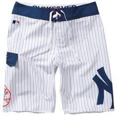 通販 - Amazon.co.jp: [クイックシルバー] Quiksilver USモデル サーフパンツ New York Yankees Boardshorts - White 【並行輸入品】: スポーツ&アウトドア