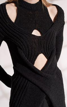 Knit Fashion, Runway Fashion, High Fashion, Fashion Show, Fashion Outfits, Womens Fashion, Fashion Details, Fashion Design, Mode Inspiration