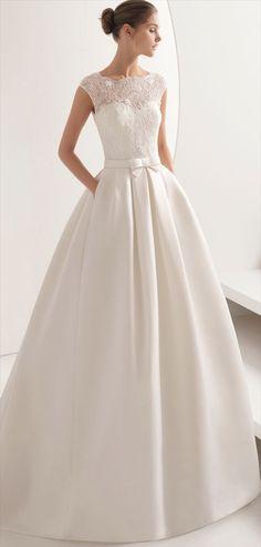 Rosa Clara Fall 2018 wedding dress
