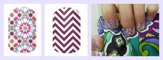 Jamberry Quilted and Boysenberry Chevron