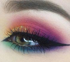 Cute eye make up beauty makeup tips, makeup goals, makeup art, face makeup Makeup Goals, Makeup Inspo, Makeup Inspiration, Makeup Tips, Hair Makeup, Makeup Ideas, Beauty Makeup, Makeup Tutorials, Prom Makeup