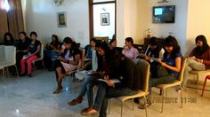 Session with Shoppers Stop employees