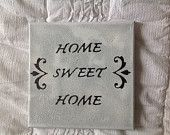Home sweet home - small canvas