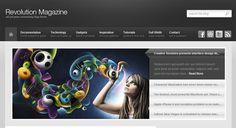 Web design tutorials, Photoshop.