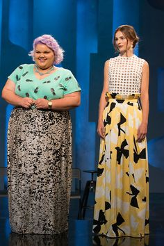 Project Runway Season 14 Episode 1 - I LOVED this outfit from Ashley Nell Tipton, especially the skirt!
