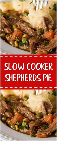 slow cooker shepherds pie #slowcooker #whole30 #foodlover #homecooking #cooking #cookingtips