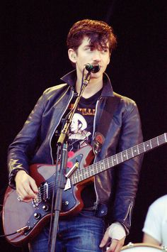 Arctic Monkey's frontman Alex Turner Wore Addict Clothes AD-01