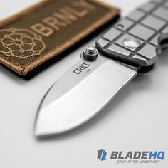 The CRKT Burnley Grid Squid | Blade HQ Exclusive