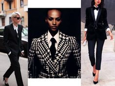 Look & Inspiration : Le costume pour femme - That's Intrinsic
